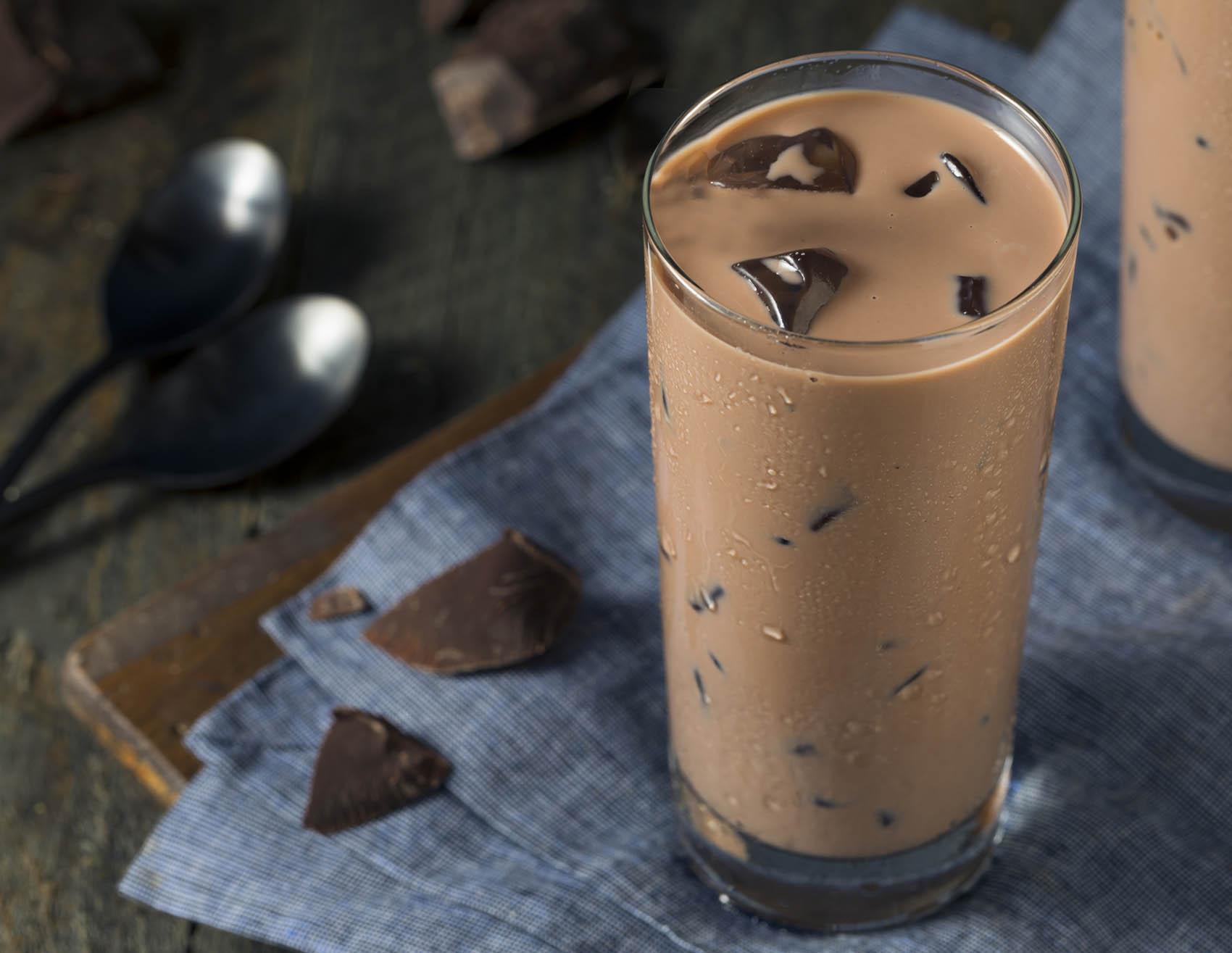 冰巧克力牛奶